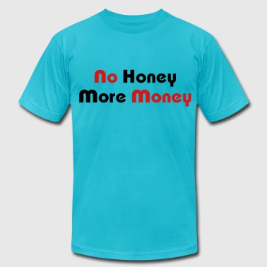 Bangkok Glow No Honey More Money - Men's Fine Jersey T-Shirt