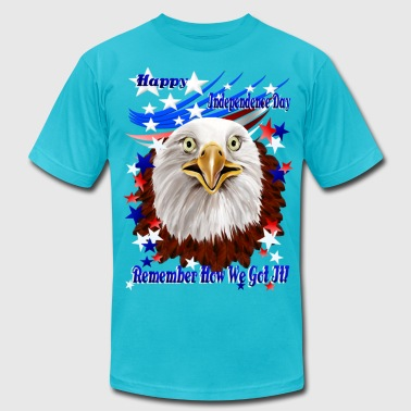 Grand Ol' Eagle-Independence Day - Men's Fine Jersey T-Shirt