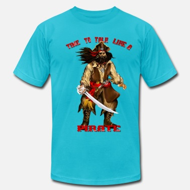 Times Like These Time To Talk Like A Pirate - Men's  Jersey T-Shirt