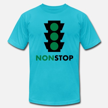 Traffic Light nonstop traffic light 2c - Men's  Jersey T-Shirt