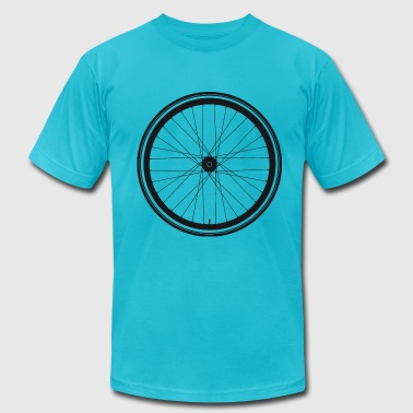 Wheel of a bicycle - Men's Fine Jersey T-Shirt