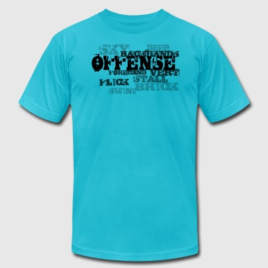 Offense - Men's Fine Jersey T-Shirt