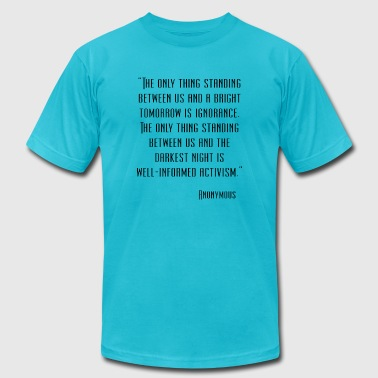 Anonymous Quote - Men's Fine Jersey T-Shirt