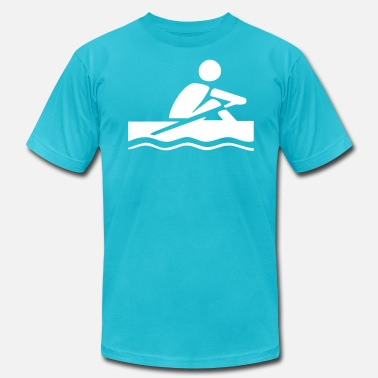 Rower rowing - Men's Jersey T-Shirt