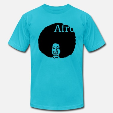 Afro American Afro, nothing else! - Men's Fine Jersey T-Shirt