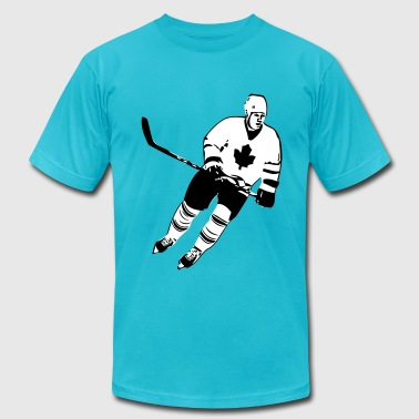 Canadian Hockey Player  - Men's Fine Jersey T-Shirt