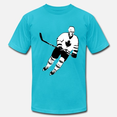 Canadian Hockey Canadian Hockey Player  - Men's  Jersey T-Shirt
