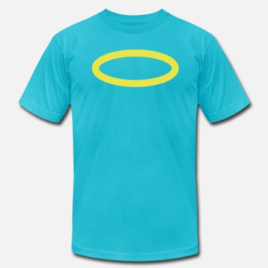 Angel Wings With Halo halo (angel) - Men's  Jersey T-Shirt