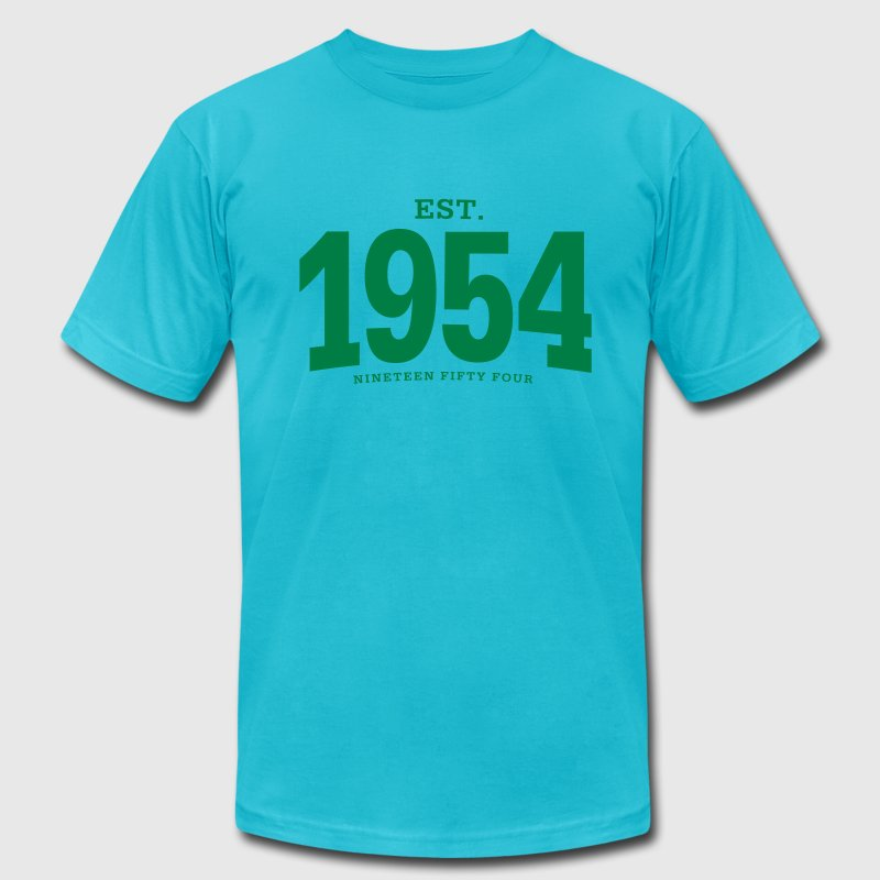 est. 1954 Nineteen Fifty Four - Men's Fine Jersey T-Shirt