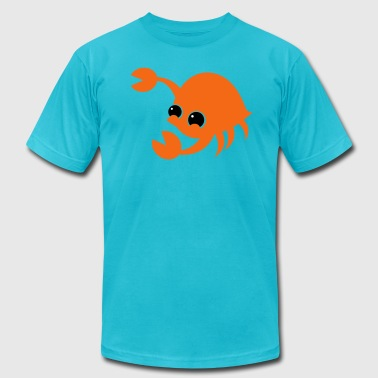 crab cute CRUSTACEAN - Men's Fine Jersey T-Shirt