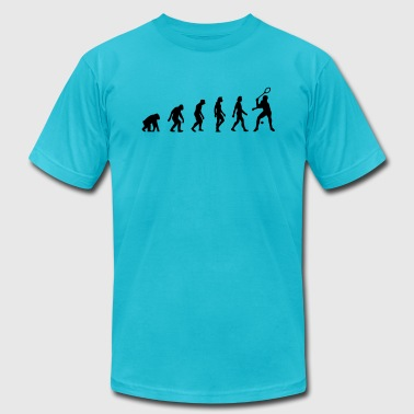 The Evolution of Squash - Men's Fine Jersey T-Shirt