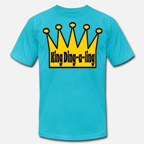 king ding a ling men s jersey t shirt spreadshirt