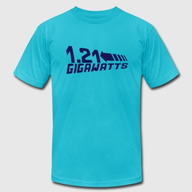 1.21 Gigawatts - Men's Fine Jersey T-Shirt