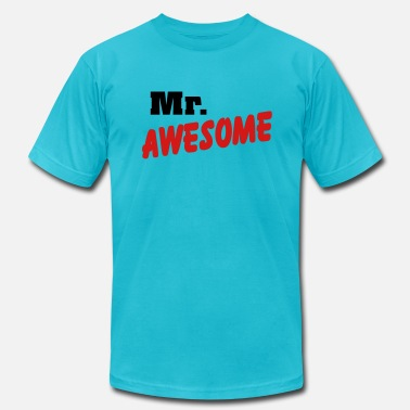 Mr Awesome Mr. Awesome - Men's Fine Jersey T-Shirt