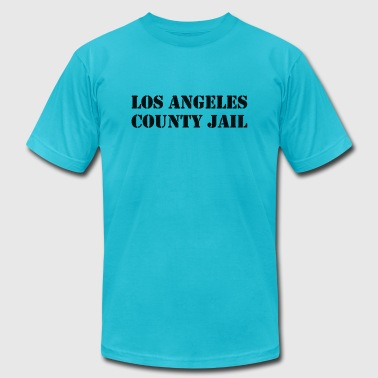 Los Angeles County Jail - Men's Fine Jersey T-Shirt