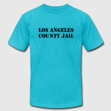 County Jail Los Angeles County Jail - Men's Fine Jersey T-Shirt