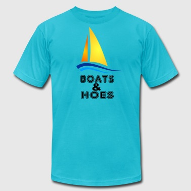 Boats And Hoes - Men's Fine Jersey T-Shirt