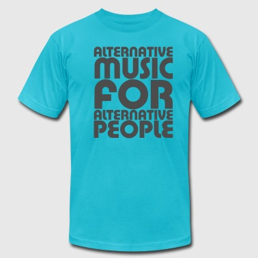 Alternative Music - Men's Fine Jersey T-Shirt