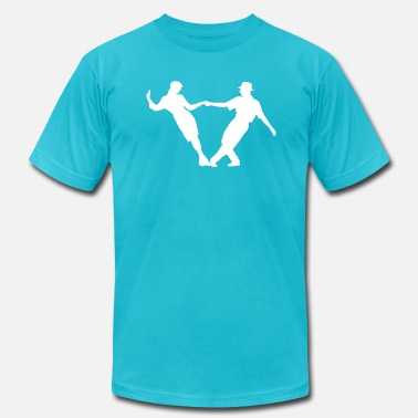 Dance Couple couple dancing - Men's  Jersey T-Shirt