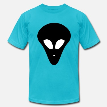 Trendy Alien alien head - Men's Fine Jersey T-Shirt