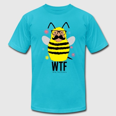What The Flowers Bee - Men's Fine Jersey T-Shirt