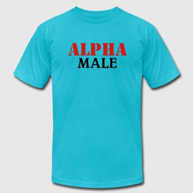 Alpha Male - Men's Fine Jersey T-Shirt