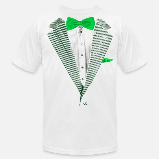 e71bd0837 St.Patrick's Day Green Tuxedo Costume Men's Jersey T-Shirt | Spreadshirt
