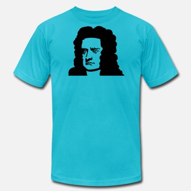Isaac Researchers and their inventions: Newton - Men's  Jersey T-Shirt
