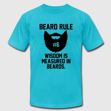 Beard Rules - Men's Fine Jersey T-Shirt