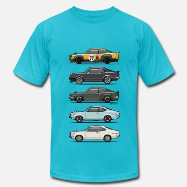 Rotary Stack of Mazda Savanna GT - Men's  Jersey T-Shirt