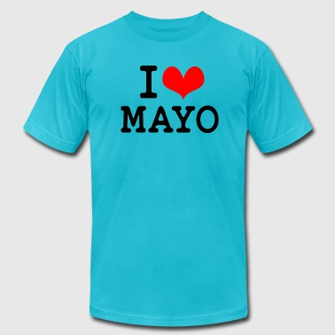 Mayonnaise I Love Mayo - Men's Fine Jersey T-Shirt