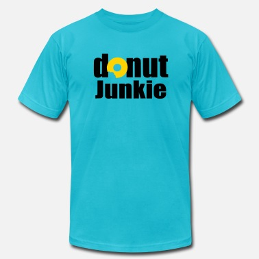 Ring Donuts Donut Junkie - Men's  Jersey T-Shirt