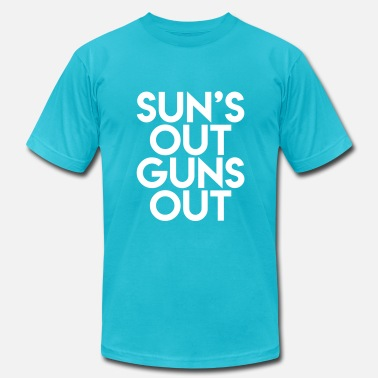 Sun's Out Guns Out - Men's  Jersey T-Shirt