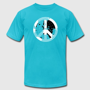 world peace - Men's Fine Jersey T-Shirt