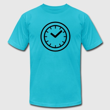 clock - Men's Fine Jersey T-Shirt