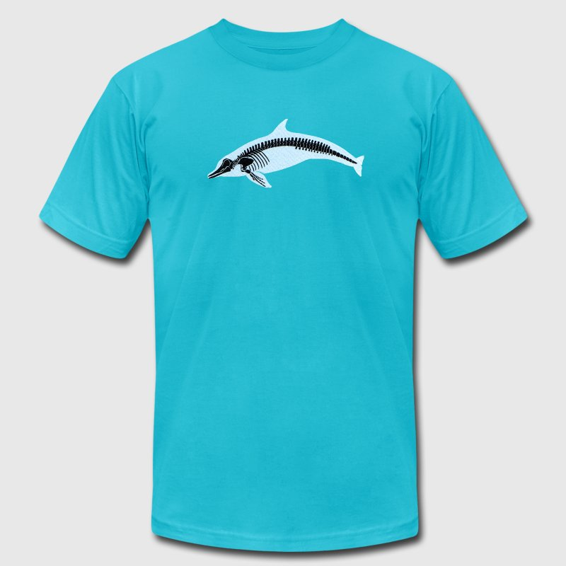 Dolphin X-Ray - Men's Fine Jersey T-Shirt