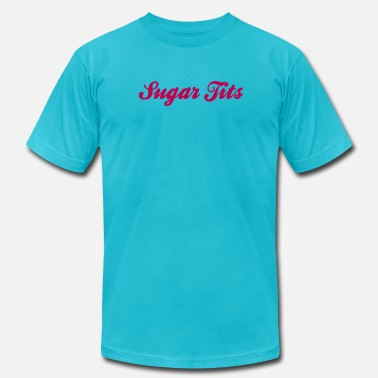 Nipples Hot Sugar Tits (1c) - Men's  Jersey T-Shirt