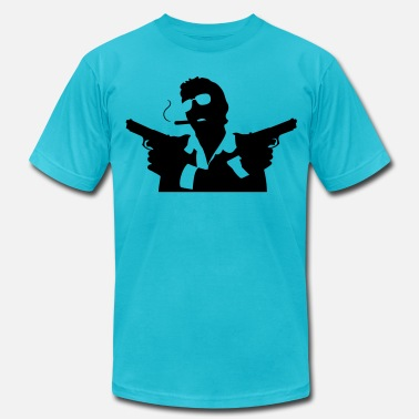 Murder Gang Hitman (1c)++ - Men's  Jersey T-Shirt