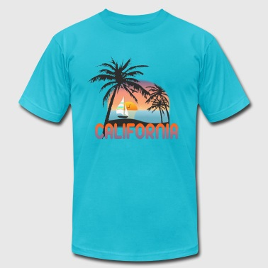 Monterrey California - Men's Fine Jersey T-Shirt