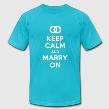 Equal Marriage Marriage Equality  - Men's Fine Jersey T-Shirt