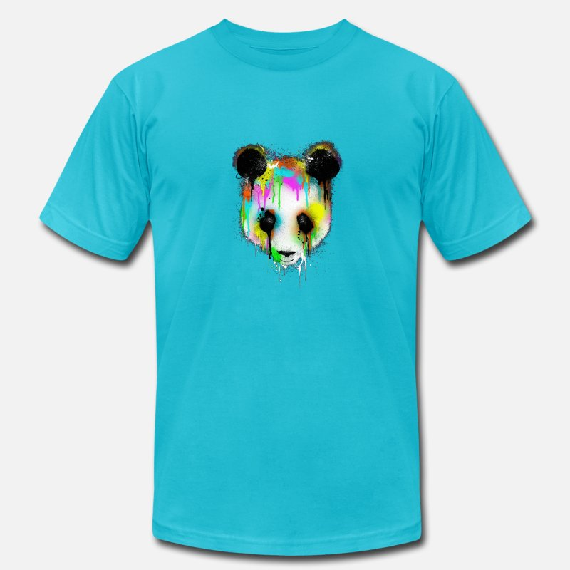 fc380a23e674e Graffiti Bear Men's Jersey T-Shirt | Spreadshirt