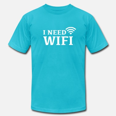 I Need Wifi Wifi internet - Men's  Jersey T-Shirt
