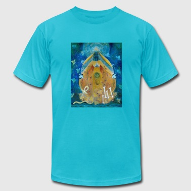 Cosmic Shakti Design by Arathi Ma - Men's Fine Jersey T-Shirt
