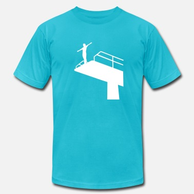 High Dive High diving - Men's  Jersey T-Shirt