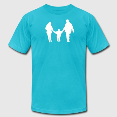 family - Men's Fine Jersey T-Shirt