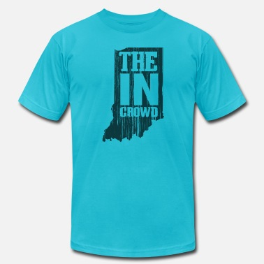 Crowds The In Crowd - Men's Fine Jersey T-Shirt