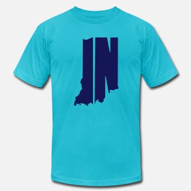 Indy IN - Men's  Jersey T-Shirt