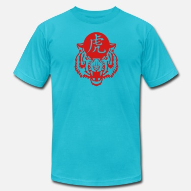 Chinese Tiger tiger chinese zodiac sign 3 - Men's Jersey T-Shirt