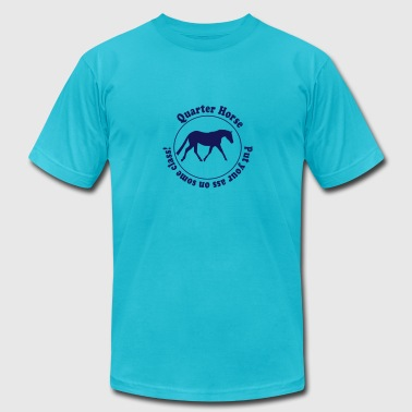 Quarter Horse - Men's Fine Jersey T-Shirt