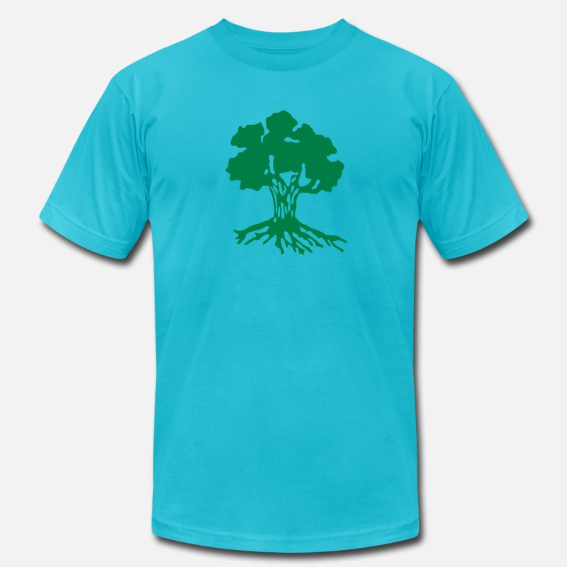 Army T-Shirts - Golani Brigade - Men's Jersey T-Shirt turquoise